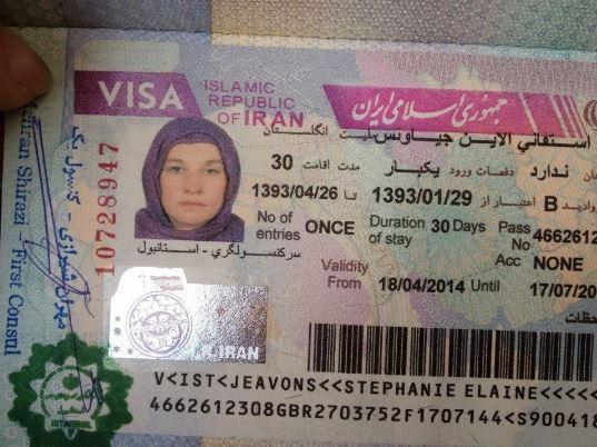 Extender visado en Iran