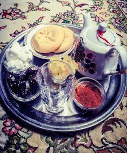 el té en Iran