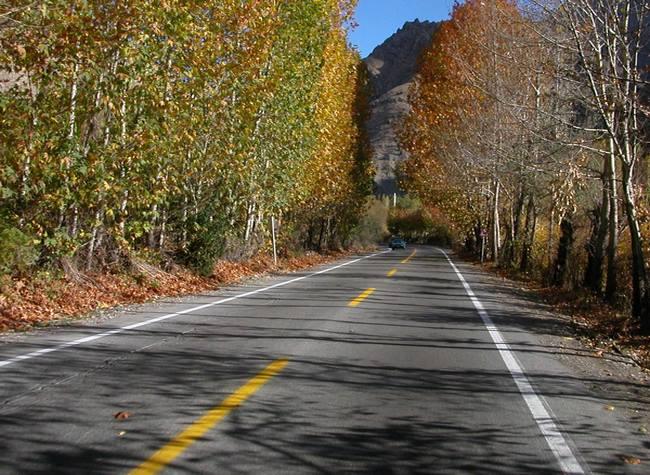 Carretera de la provincia de Manzandaran en Otoño (Irán) , Cuándo viajar a Irán