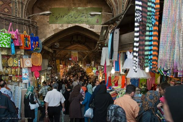 Turismo en Teheran, gran bazar
