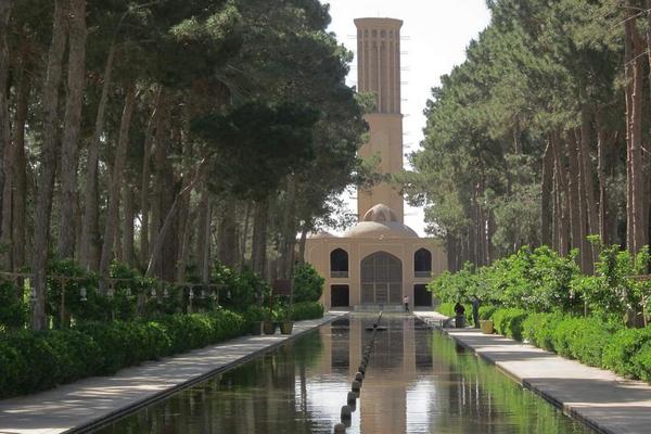 jardines persas yazd