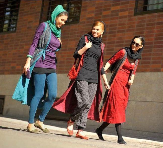 vestir en iran - chicas iranies