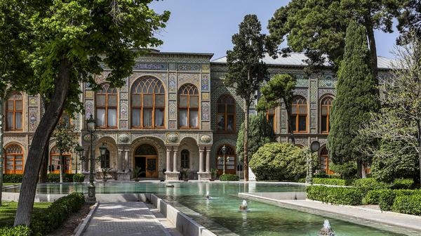 turismo en teheran, palacio de golestan