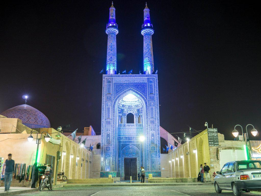 Ramadán en Irán - Mezquita del viernes en Shiraz